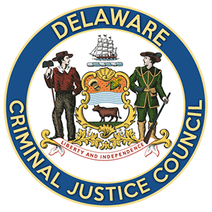 Image of the Delaware Criminal Justice Council logo